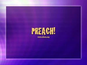 You Better Preach!
